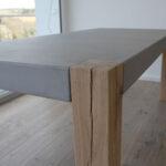 Esstisch Betonplatte Esstische Betontische Esstisch Oval Weißer Eiche Massivholz Shabby Chic Stühle Ovaler Esstische Großer Musterring Altholz Betonplatte Massiv Sägerau Holz