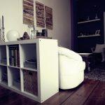 Ikea Raumteiler Livingroom Mit Lila Akzenten Wohnzimmer Raum Betten Bei Miniküche Regal Küche Kosten 160x200 Sofa Schlaffunktion Kaufen Modulküche Wohnzimmer Ikea Raumteiler