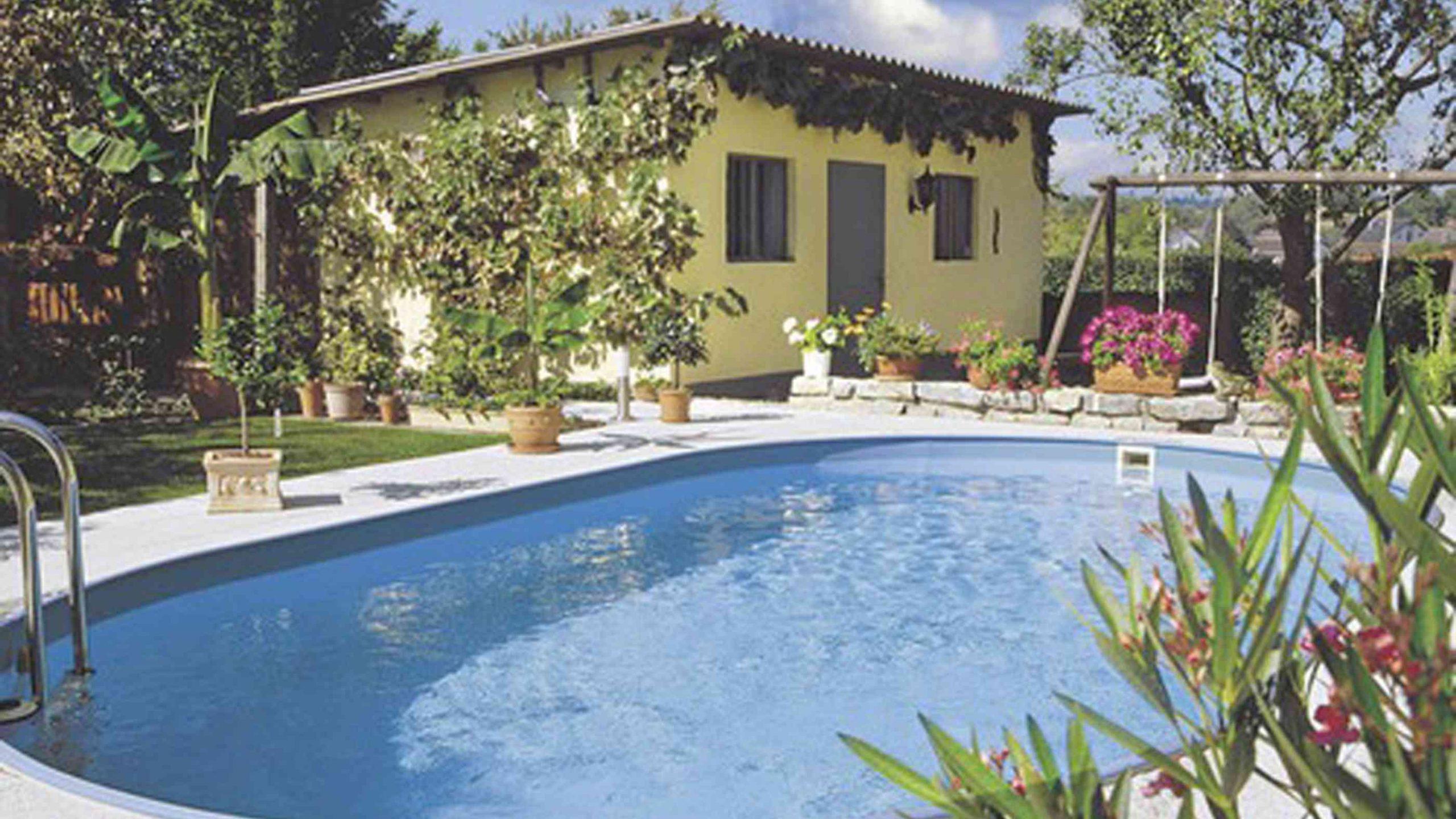 Full Size of Pool Im Garten Bauen So Klappt Das Eigene Schwimmbad Loungemöbel Günstig Gewächshaus Sauna Badezimmer Stapelstühle Fototapete Wohnzimmer Spielgerät Wohnzimmer Pool Im Garten