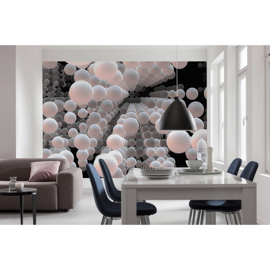 Large Size of 3d Fototapete Komar Spherical 368 Cm 254 Kaufen Bei Obi Fototapeten Wohnzimmer Fenster Schlafzimmer Küche Wohnzimmer 3d Fototapete