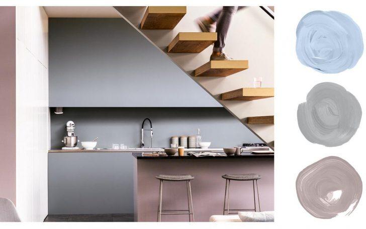 Medium Size of Küche Wandfarbe Fr Kche 55 Farbideen Und Beispiele Farbgestaltung Landhausküche Gebraucht Grau Hochglanz Sitzgruppe L Form Laminat Für Teppich Finanzieren Wohnzimmer Küche Wandfarbe