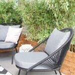 Terrassen Lounge Wohnzimmer Terrassen Lounge Makeover Superschne Garten Loungemöbel Günstig Set Holz Möbel Sofa Sessel