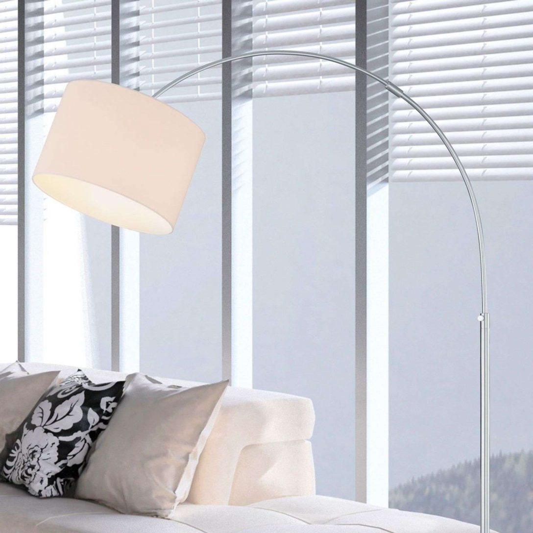 Large Size of Stehlampen Modern Bogen Stehleuchte Risa Stoffschirm Nickel Matt Wei Modernes Bett 180x200 Deckenlampen Wohnzimmer Moderne Esstische Design Deckenleuchte Wohnzimmer Stehlampen Modern