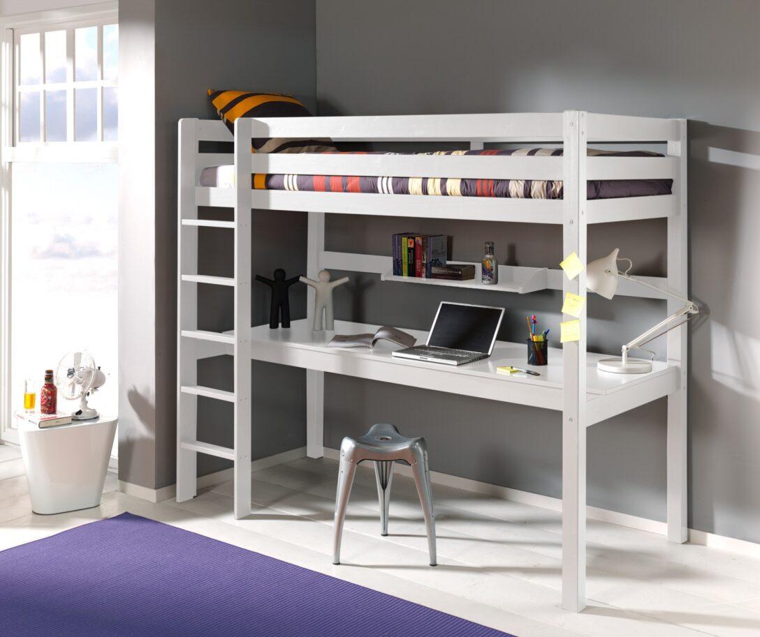 Large Size of Kinderbett Pino Hochbett 90 200 Cm Mit Schreibtisch Regal Kinderzimmer Sofa Weiß Regale Kinderzimmer Kinderzimmer Hochbett