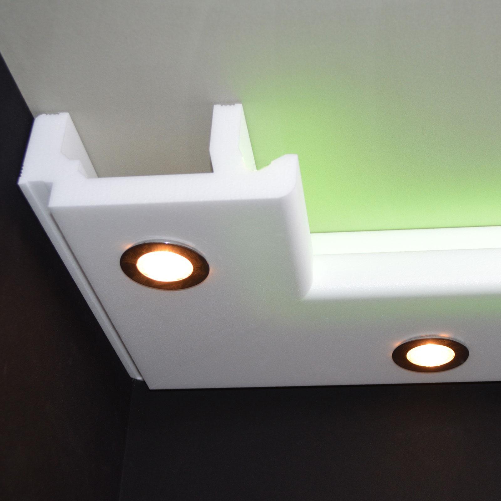 Full Size of Indirekte Beleuchtung Decke Deckenlampen Für Wohnzimmer Deckenleuchten Küche Spiegelschrank Bad Mit Deckenlampe Deckenleuchte Schlafzimmer Tagesdecke Bett Wohnzimmer Indirekte Beleuchtung Decke