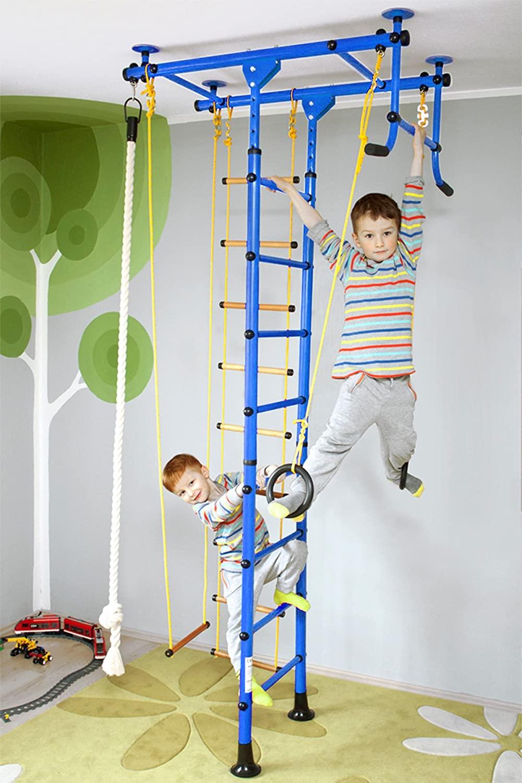 Full Size of Sprossenwand Kinderzimmer Nirosport Fittop M1 Indoor Klettergerst Fr Regal Weiß Sofa Regale Kinderzimmer Sprossenwand Kinderzimmer
