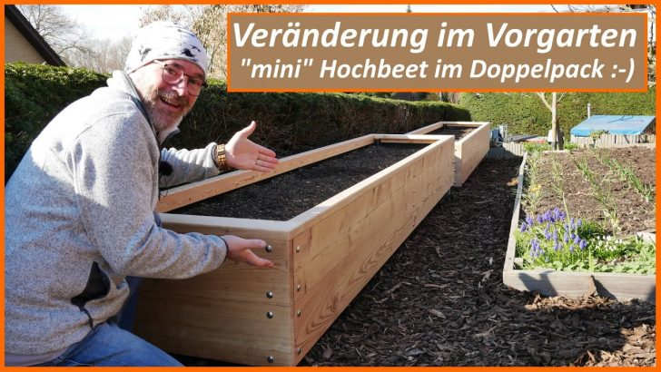 Medium Size of Hochbeet Hornbach Im Doppelpack Vernderung Vorgarten Halbhohe Garten Wohnzimmer Hochbeet Hornbach