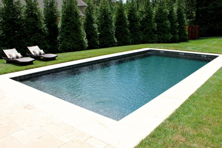 Medium Size of Gartenpool Rechteckig Mit Pumpe Bestway Garten Pool Holz Test Intex 3m Simple Rectangular Fiberglpool With Sheer Descents Moderne Wohnzimmer Gartenpool Rechteckig