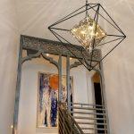 Designer Lampen Casa Padrino Luxus Led Hngeleuchte Schwarz 76 Betten Deckenlampen Wohnzimmer Stehlampen Esstisch Regale Badezimmer Küche Modern Bad Wohnzimmer Designer Lampen