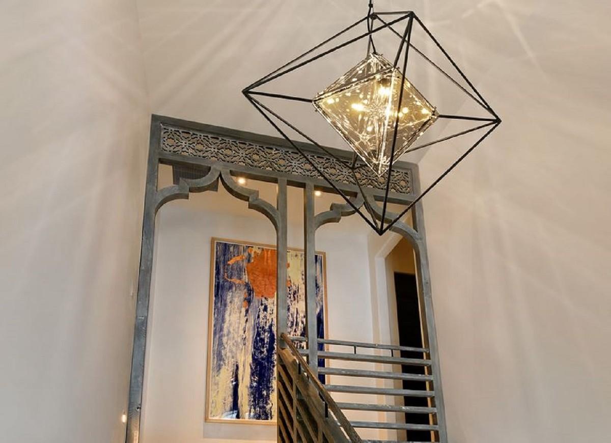 Full Size of Designer Lampen Casa Padrino Luxus Led Hngeleuchte Schwarz 76 Betten Deckenlampen Wohnzimmer Stehlampen Esstisch Regale Badezimmer Küche Modern Bad Wohnzimmer Designer Lampen