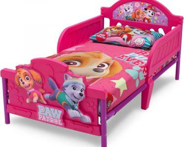 Kinderbett Mädchen Wohnzimmer Kinderbett Mädchen Delta Children 70x140 Paw Patrol Skye Knirpsenland Bett Betten