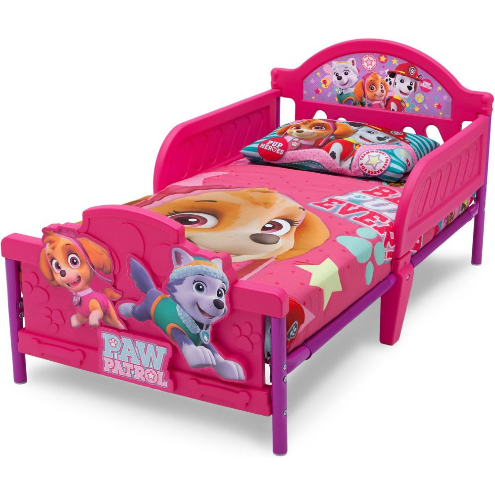 Full Size of Kinderbett Mädchen Delta Children 70x140 Paw Patrol Skye Knirpsenland Bett Betten Wohnzimmer Kinderbett Mädchen