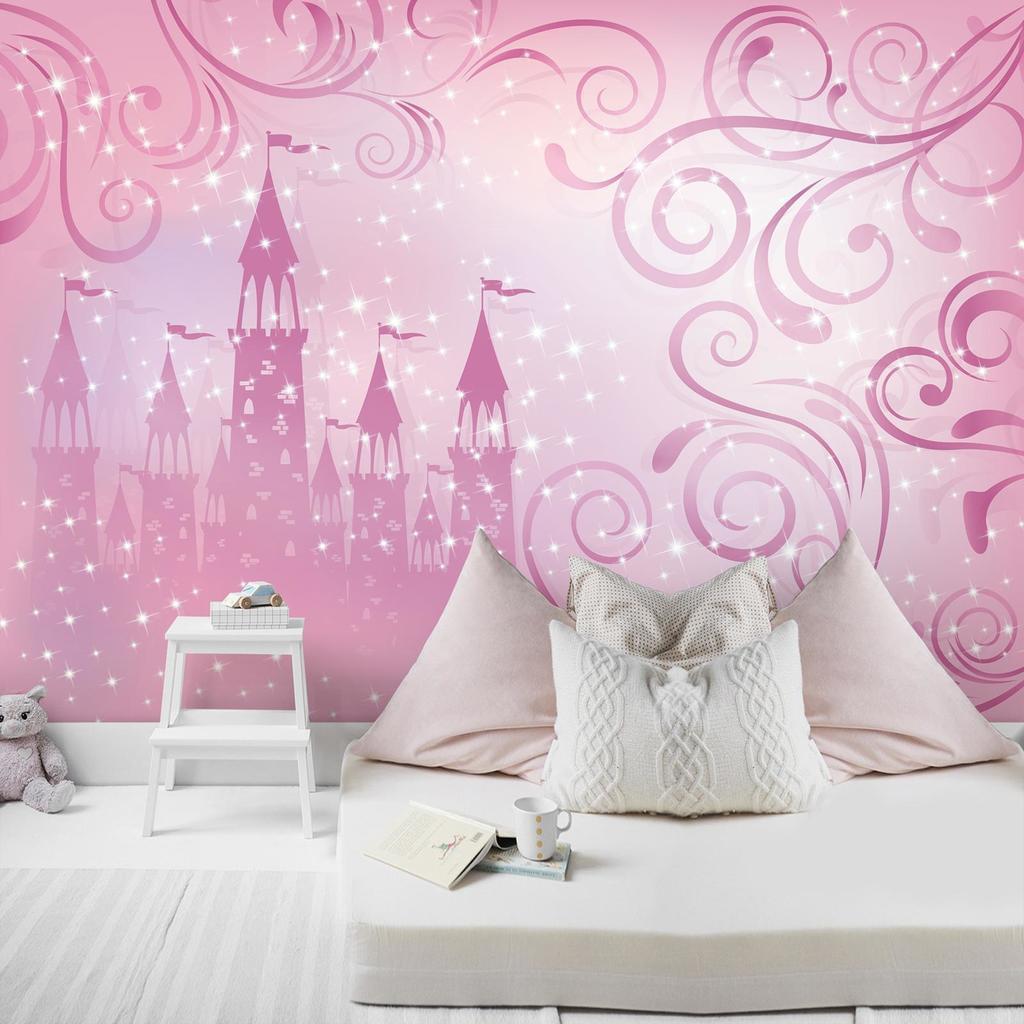 Full Size of Kinderzimmer Prinzessin Fototapete Schloss Wanddeko Real Regal Weiß Bett Regale Sofa Prinzessinen Kinderzimmer Kinderzimmer Prinzessin