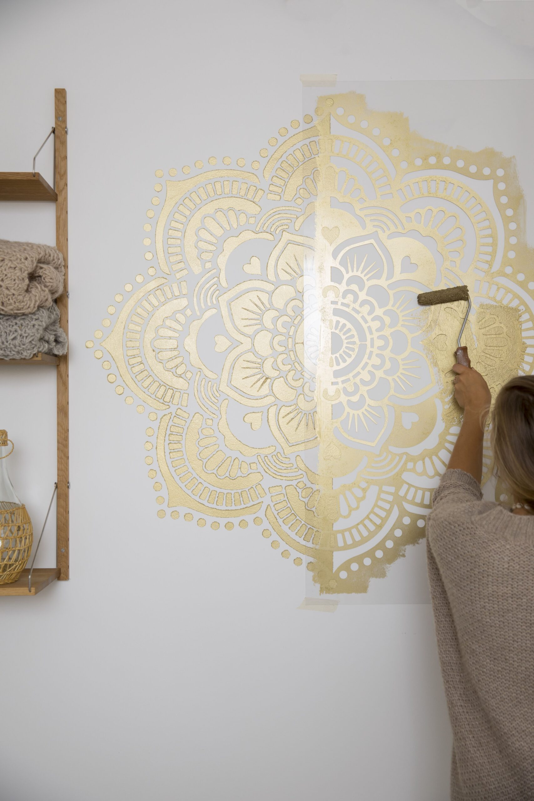 Full Size of Make A Golden Yoga Mandala 118 By Cmstep Step Regal Kinderzimmer Weiß Sofa Regale Kinderzimmer Wandschablonen Kinderzimmer