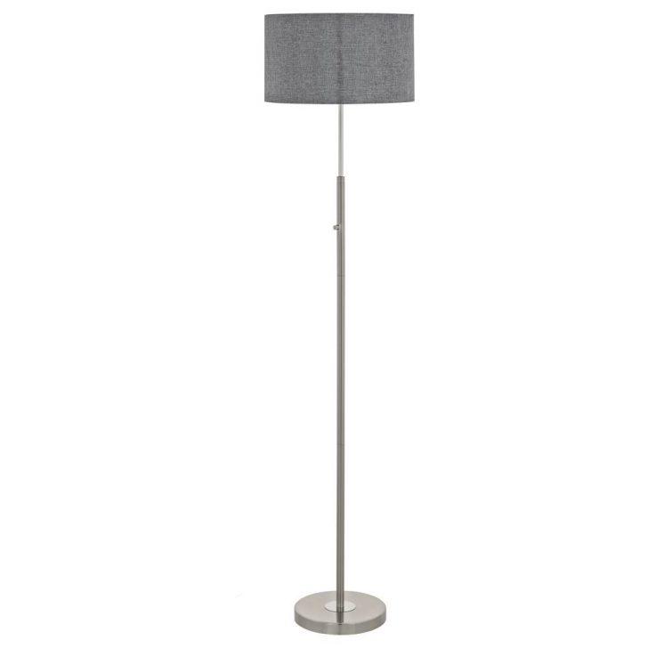Medium Size of Stehlampe Dimmbar Dimmbare Stehleuchte Romao Aus Stahl In Mattiertem Nickel Und Wohnzimmer Stehlampen Schlafzimmer Wohnzimmer Stehlampe Dimmbar