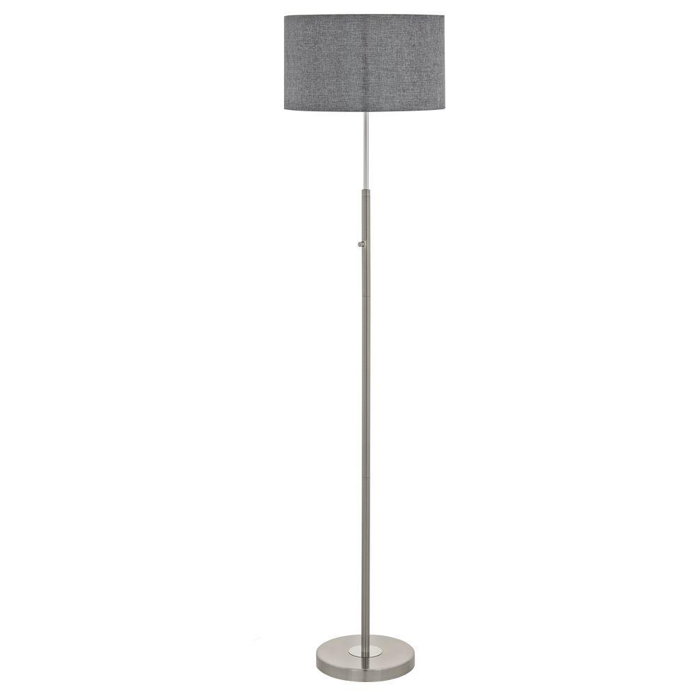 Full Size of Stehlampe Dimmbar Dimmbare Stehleuchte Romao Aus Stahl In Mattiertem Nickel Und Wohnzimmer Stehlampen Schlafzimmer Wohnzimmer Stehlampe Dimmbar