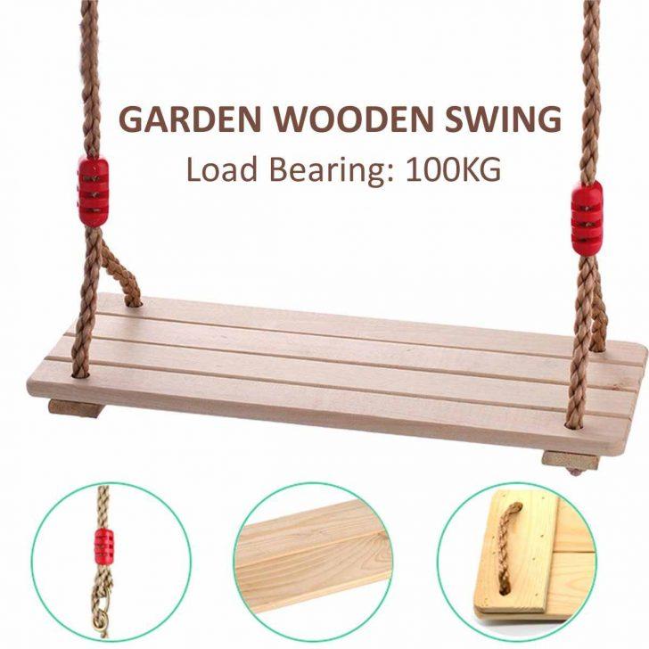 Medium Size of Holz Garten Schaukel Outdoor Indoor Spiele Baum Hngen Wohnzimmer Gartenschaukel Erwachsene