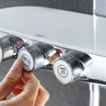 Grohe Thermostat Dusche Drcken 80x80 Nischentür Schiebetür Barrierefreie Schulte Duschen Abfluss Begehbare Fliesen Behindertengerechte Glastür Für Dusche Grohe Thermostat Dusche