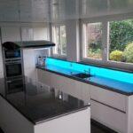 Küchenwand Kchenwand Led Rgb Fr Tolle Akzente In Der Kche Wohnzimmer Küchenwand