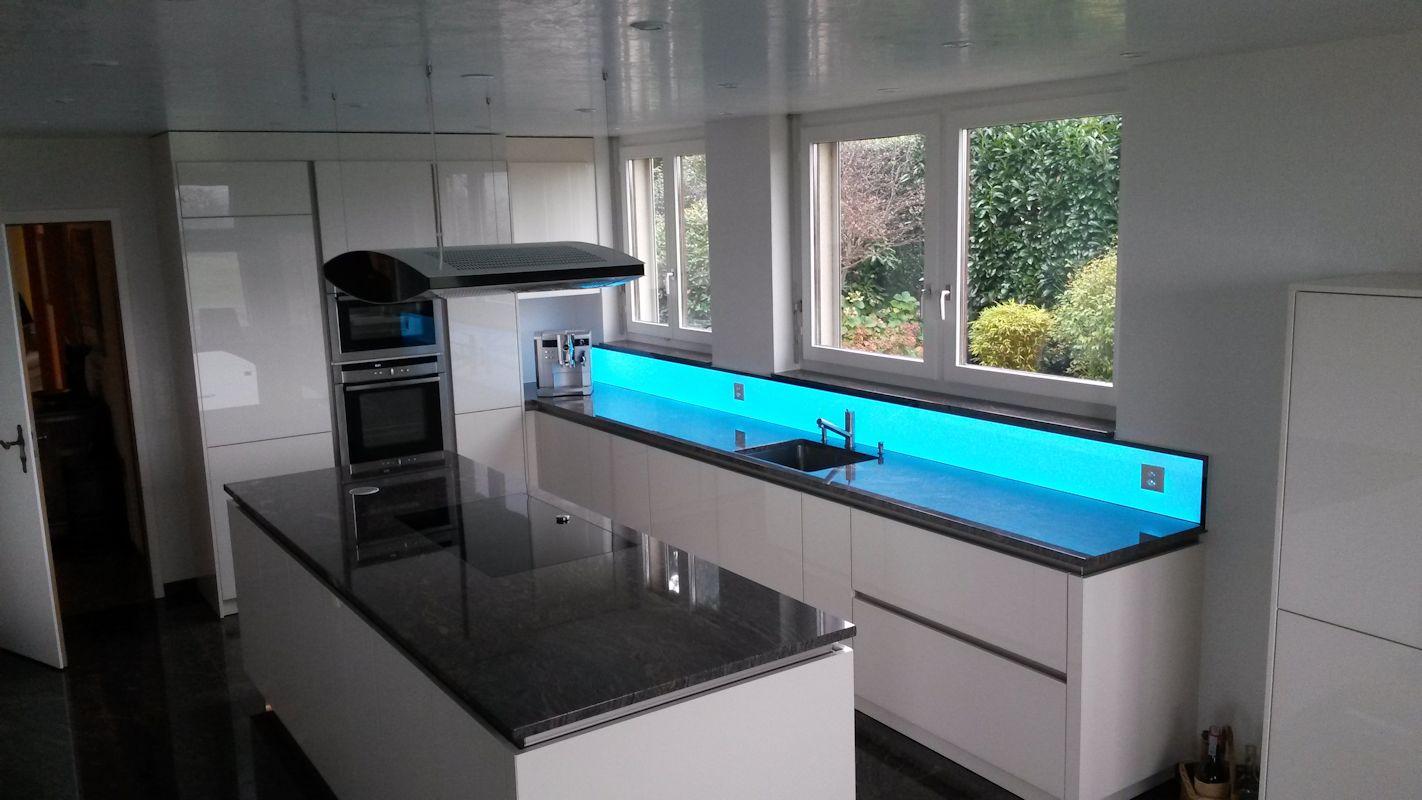 Full Size of Küchenwand Kchenwand Led Rgb Fr Tolle Akzente In Der Kche Wohnzimmer Küchenwand