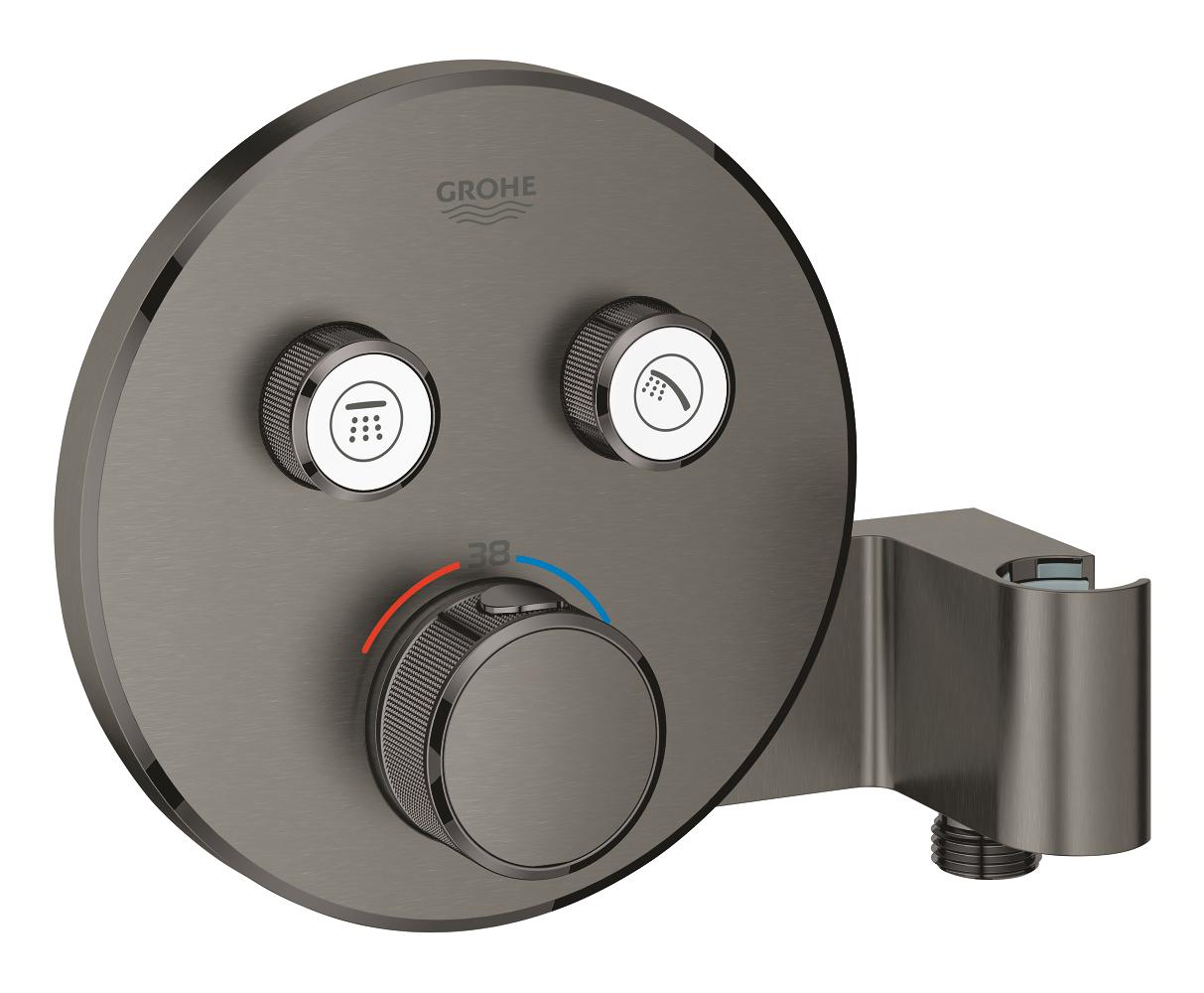 Full Size of Grohe Thermostat Dusche Grohtherm Smartcontrol M 2 Absperrvent U Integ Bluetooth Lautsprecher 90x90 Ebenerdige Kosten Glaswand Badewanne Mit Tür Und Schulte Dusche Grohe Thermostat Dusche