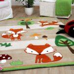 Teppiche Kinderzimmer Lifestyle Kinderteppich Fchse Beige Und Regal Sofa Weiß Wohnzimmer Regale Kinderzimmer Teppiche Kinderzimmer