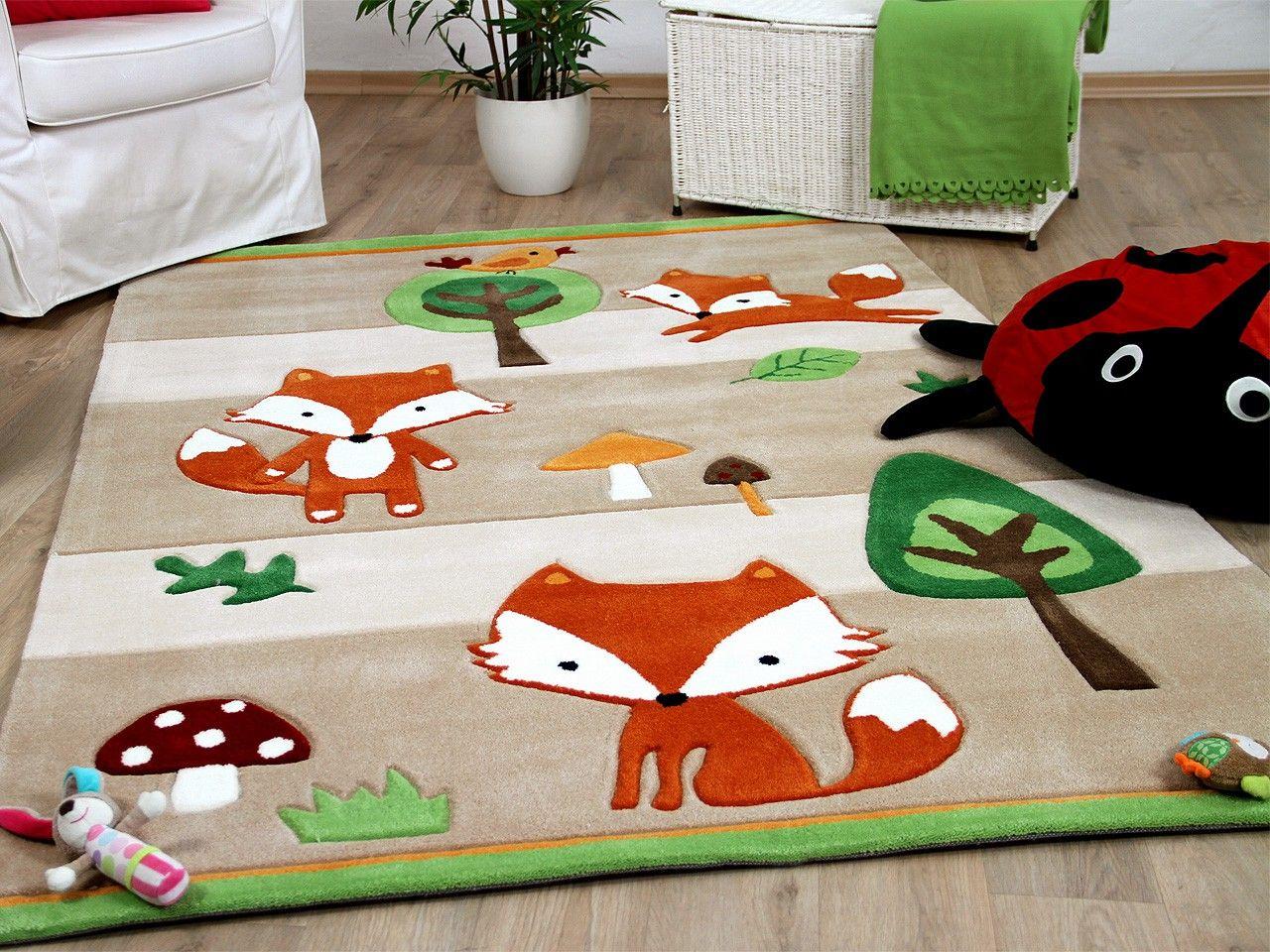 Full Size of Teppiche Kinderzimmer Lifestyle Kinderteppich Fchse Beige Und Regal Sofa Weiß Wohnzimmer Regale Kinderzimmer Teppiche Kinderzimmer
