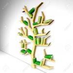 Bücherregal Baum Wohnzimmer Baum Erkenntnis Bcherregal Auf Weiem Hintergrund Lizenzfreie Esstisch Nussbaum Bett Mit Baumkante 180x200 Regal