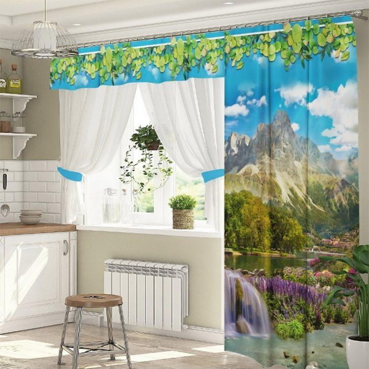 Medium Size of Küchenvorhänge Kchengardinen Posylkade Wohnzimmer Küchenvorhänge