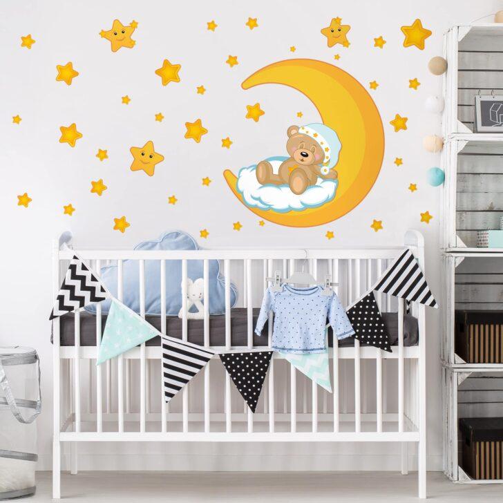 Medium Size of Wandtatoo Kinderzimmer Wandtattoo Teddys Sternenhimmel Küche Regal Weiß Regale Sofa Kinderzimmer Wandtatoo Kinderzimmer