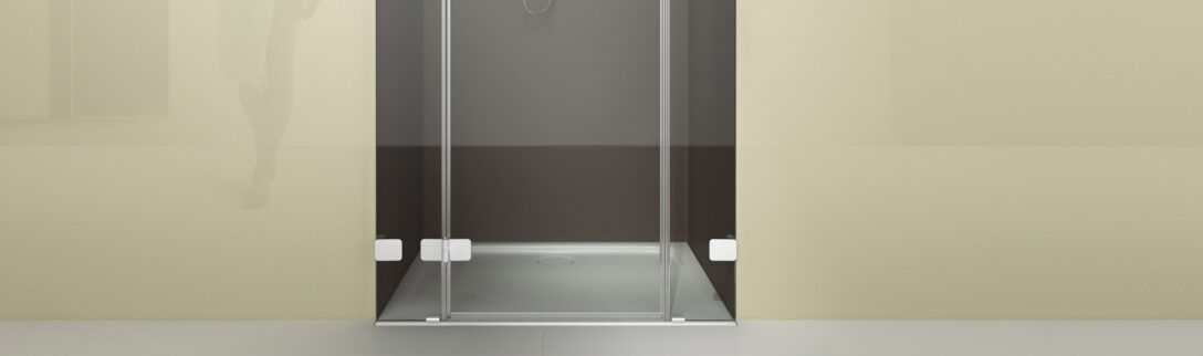 Large Size of Glasabtrennung Dusche Gerahmte Eckeinstieg Komplett Set Fliesen Pendeltür Ebenerdige Grohe Bodengleiche Nachträglich Einbauen Walk In Begehbare Rainshower Dusche Glasabtrennung Dusche