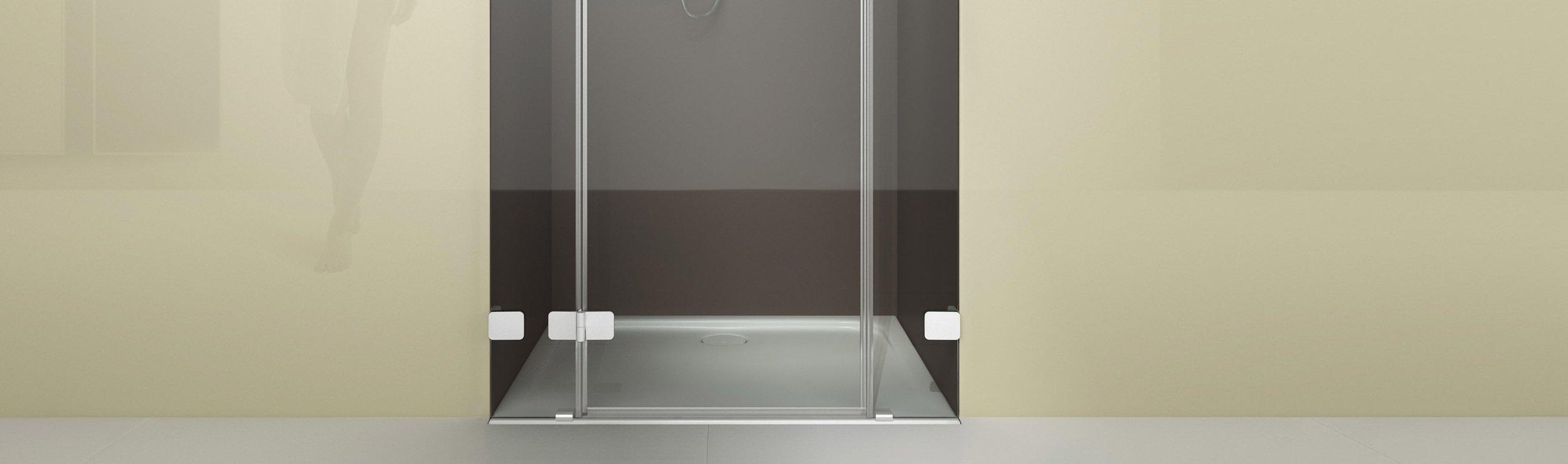 Full Size of Glasabtrennung Dusche Gerahmte Eckeinstieg Komplett Set Fliesen Pendeltür Ebenerdige Grohe Bodengleiche Nachträglich Einbauen Walk In Begehbare Rainshower Dusche Glasabtrennung Dusche