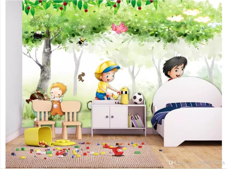 Medium Size of 3d Silk Fototapete Wandbild Sofa Regal Schlafzimmer Weiß Regale Wohnzimmer Kinderzimmer Wandbild Kinderzimmer