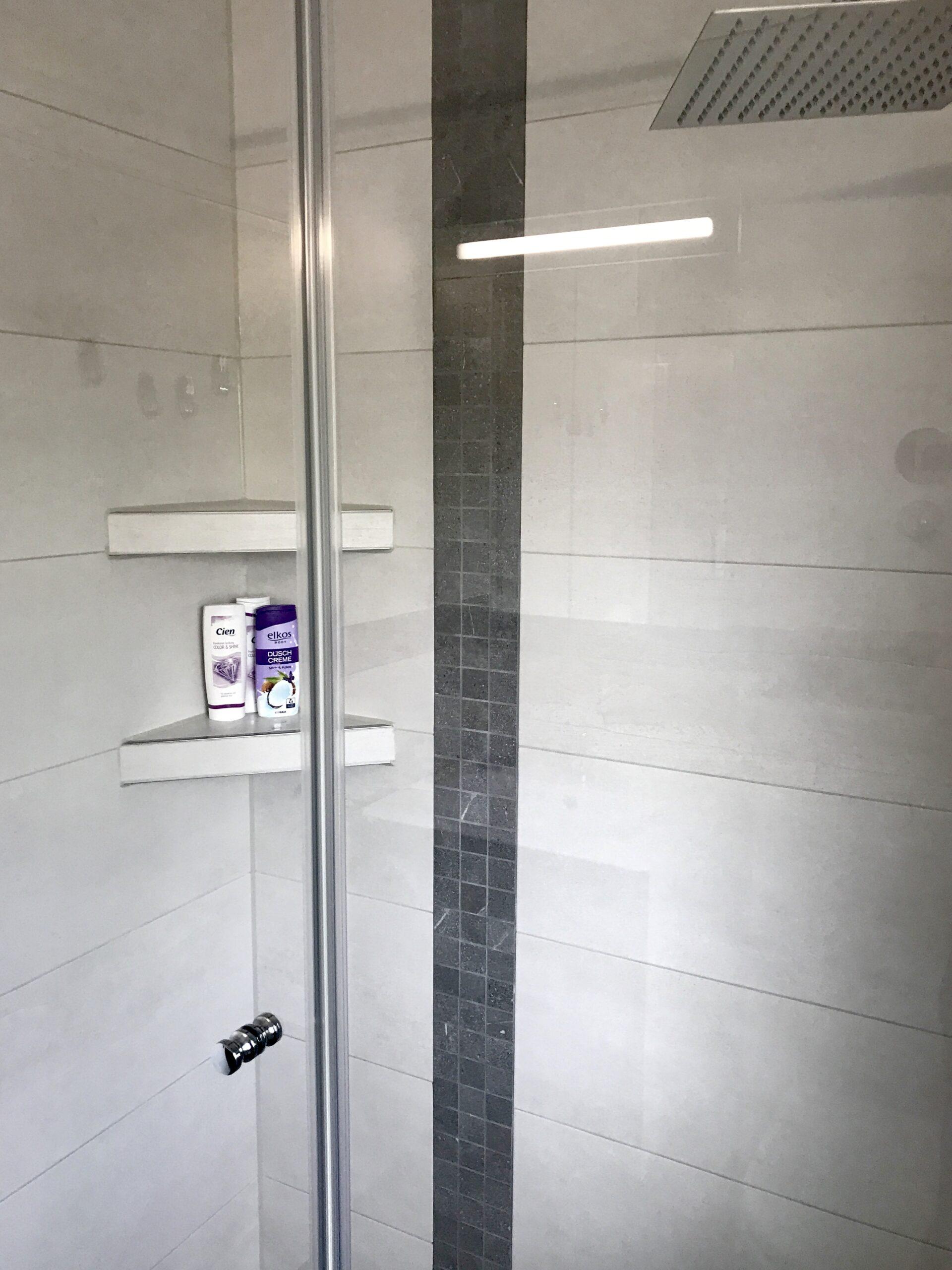 Full Size of Inspirationen Neumann Gmbh Mnchen Haustechnik Fliesen Dusche Nischentür Bodengleiche Einbauen Glaswand Begehbare Duschen Antirutschmatte Für 80x80 Dusche Rainshower Dusche
