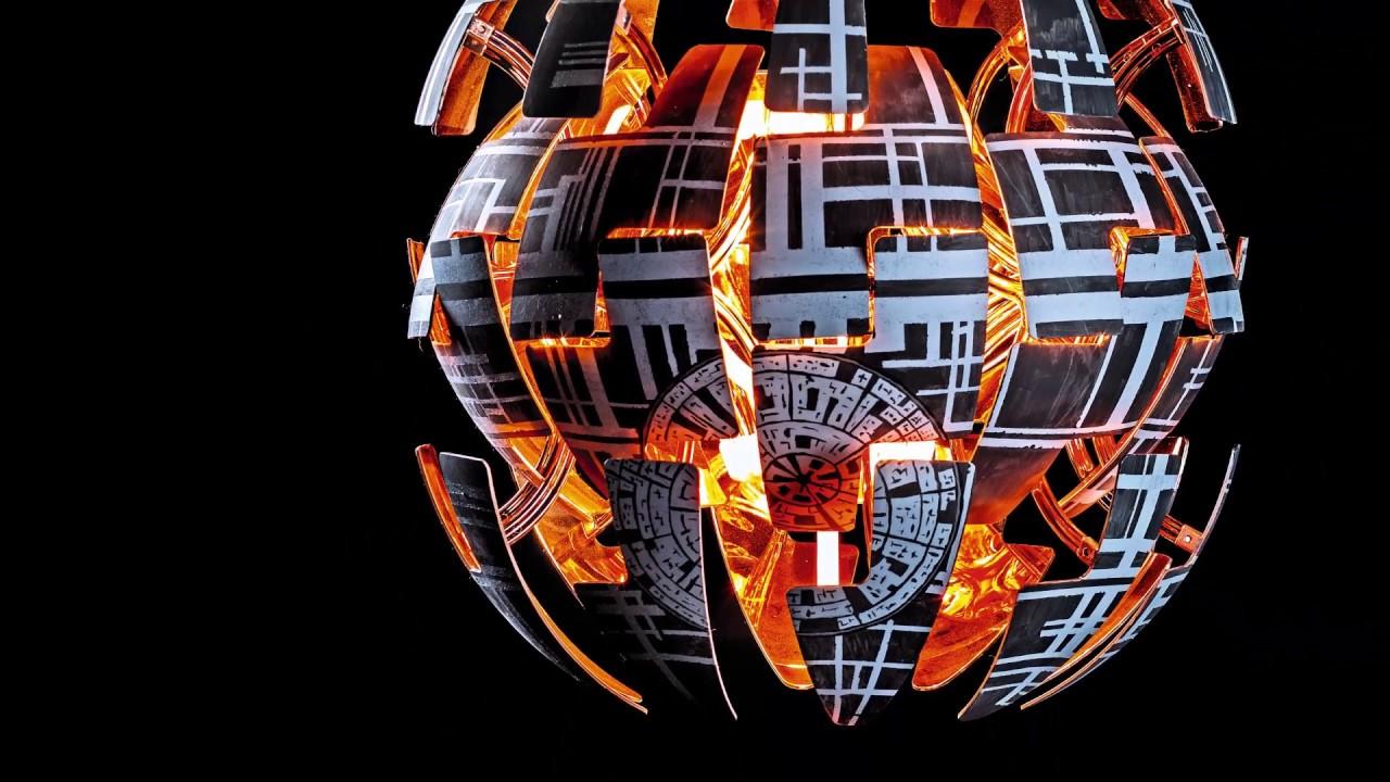 Full Size of Deckenlampe Ikea Aus Der Make 2 17 Todesstern Lampe Mit Funkfernsteuerung Schlafzimmer Wohnzimmer Deckenlampen Modulküche Für Küche Kosten Betten 160x200 Wohnzimmer Deckenlampe Ikea