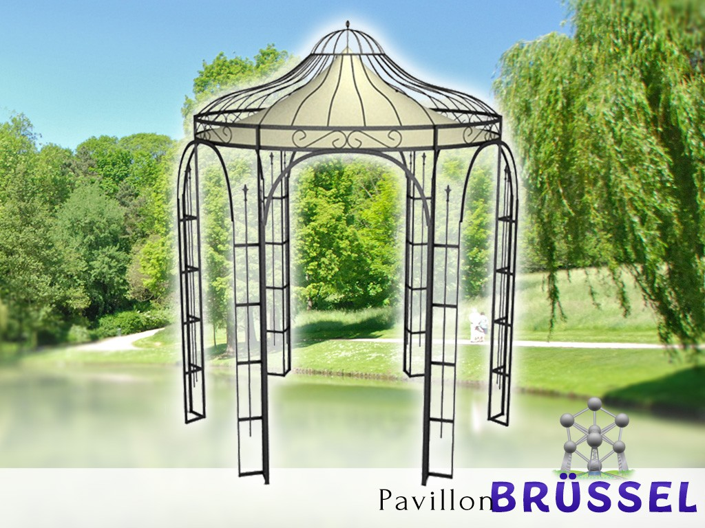 Full Size of Gartenpavillon Metall 3x3 Wasserdicht Pavillon Klein Aus Mit Festem Dach Schweiz Bett Regal Weiß Regale Wohnzimmer Gartenpavillon Metall