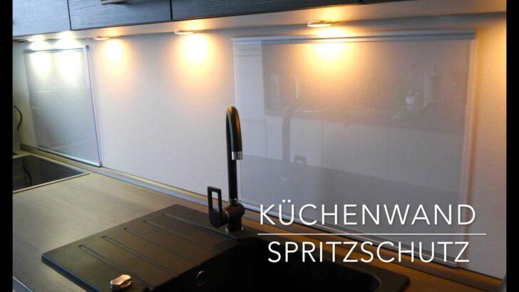 Medium Size of Kchen Wand Spritzschutz Aus Plexiglas Selber Bauen Anleitung Wohnzimmer Küchenwand