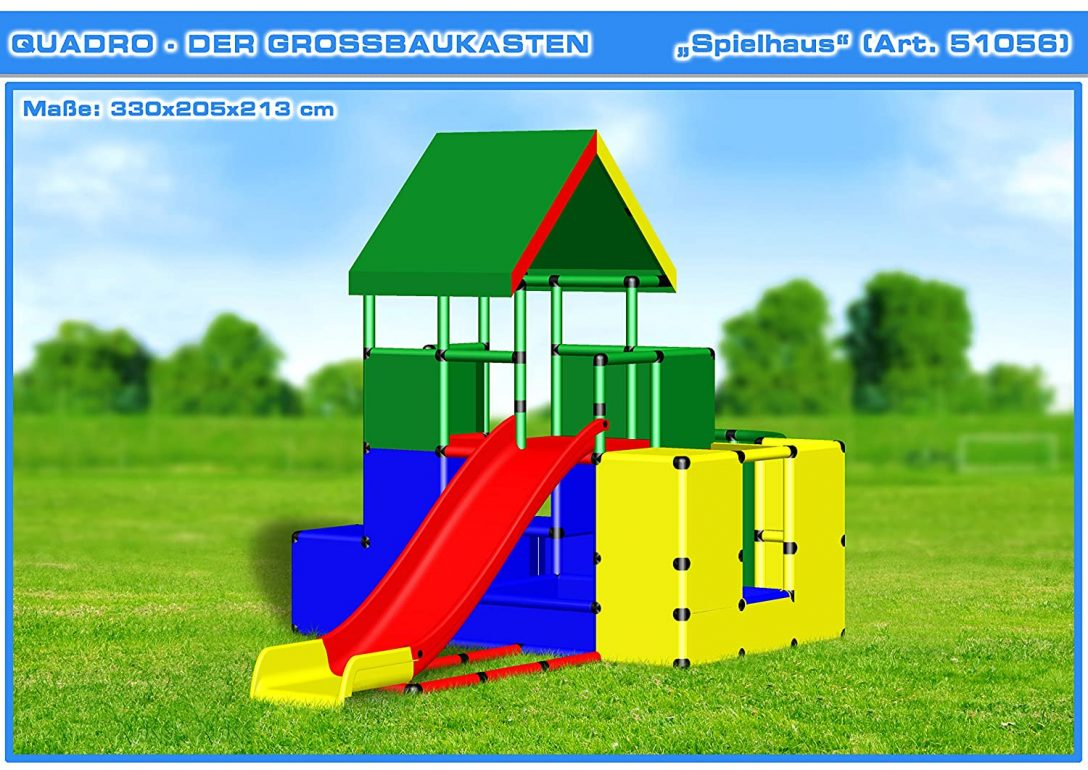 Large Size of Quadro Klettergerüst Spielhaus Klettergerst Kletterturm Spielturm Amazonde Garten Wohnzimmer Quadro Klettergerüst