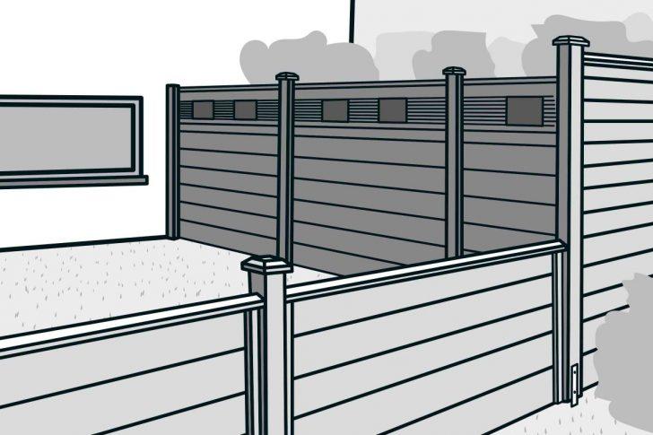 Medium Size of Hornbach Sichtschutz Bauen Mit Zaunsystem Anleitung Von Fenster Garten Wpc Sichtschutzfolie Einseitig Durchsichtig Im Sichtschutzfolien Für Holz Wohnzimmer Hornbach Sichtschutz