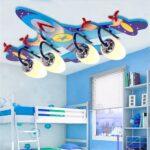 Pilotenzimmer Flugzeug Deckenlampe In Blau Flugzeuglampe Fr Deckenleuchten Küche Regale Kinderzimmer Bad Schlafzimmer Regal Wohnzimmer Weiß Sofa Kinderzimmer Deckenleuchten Kinderzimmer