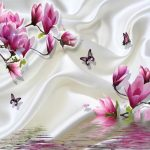 Magnolia Farbe Wohnzimmer Beibehang 3d Foto Papier Tapete Farbe Wand Minimalistischen