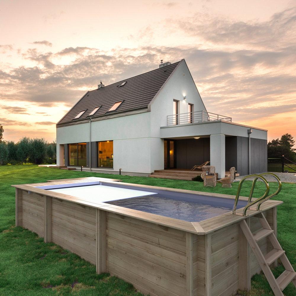 Full Size of Gartenpool Rechteckig Holz Test Bestway Mit Pumpe Obi Sandfilteranlage Garten Pool Kaufen Intex 3m Wohnzimmer Gartenpool Rechteckig