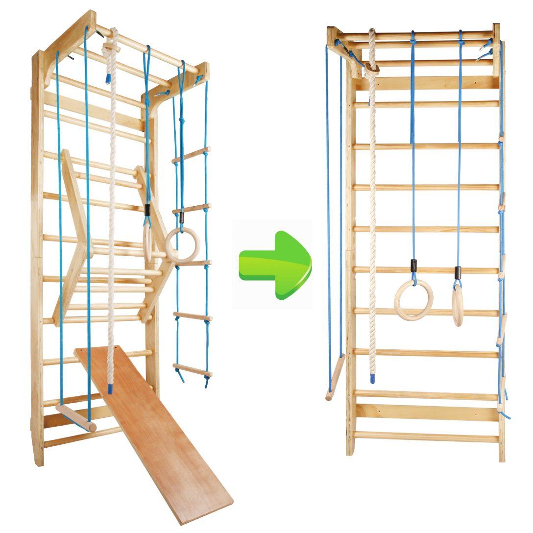 Large Size of Klettergerüst Indoor Sprossenwand Kletterwand Turnwand Klettergerst Turngerte Holz Garten Wohnzimmer Klettergerüst Indoor