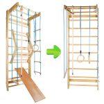 Klettergerüst Indoor Sprossenwand Kletterwand Turnwand Klettergerst Turngerte Holz Garten Wohnzimmer Klettergerüst Indoor