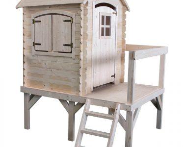 Spielhaus Holz Wohnzimmer Kinderspielhaus Mit Rundem Dach Und Podest Spiel Garten Esstisch Massivholz Ausziehbar Holztisch Sofa Holzfüßen Bad Waschtisch Holz Massivholzküche Alu