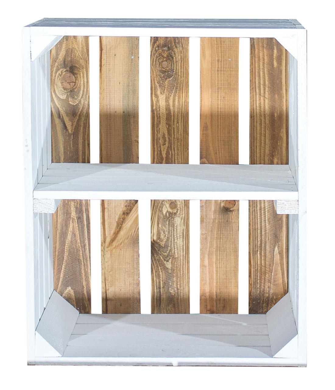 Full Size of Farbige Kisten Weies Regal Apfelkiste Weier Boden 50x40x30cm Schlafzimmer Raumteiler Wandregal Küche Regale Für Keller Landhausstil Dachschrägen Hängeregal Regal Kisten Regal