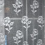 Gardine Häkeln Vorhang Mit Rosenmuster Gehkelt Gardinen Küche Wohnzimmer Für Scheibengardinen Schlafzimmer Fenster Die Wohnzimmer Gardine Häkeln