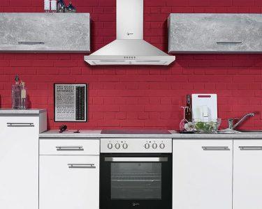 Roller Küchen Wohnzimmer Roller Küchen Kche Spicy Kchenzeile Kchenblock In Wei Und Beton Grau 270x195 Cm Regale Regal