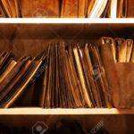 Regal Für Ordner Regal Antik Regal Voller Ordner Und Dateien In Einem Bro Lizenzfreie Sheesham Schmale Regale Für Wohnzimmer Rollos Fenster Dachschrägen Weiße Anfahrschutz