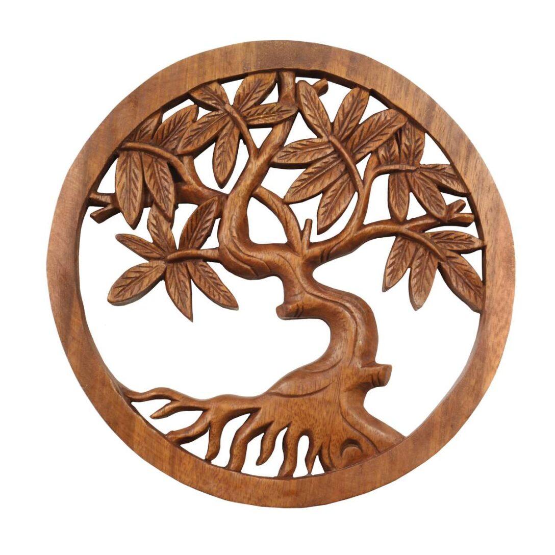 Large Size of Wandbild Wanddeko Mandala Relief Lebensbaum Baum Symbol Mythologie Sofa Mit Holzfüßen Bad Unterschrank Holz Regal Naturholz Massivholz Massivholzküche Wohnzimmer Wanddeko Holz